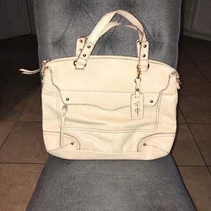 Jessica Simpson Cream Shoulder Bag